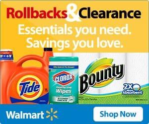 Walmart Rollback thebookongonefishing