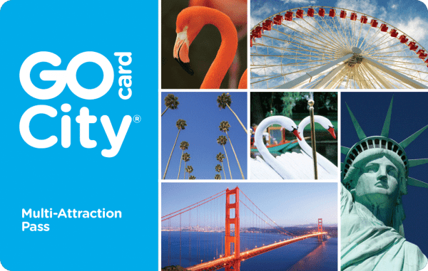 Go Card City - Save up to 55% on attractions.