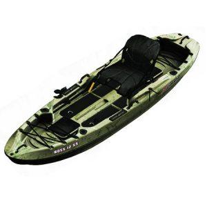 Sun Dolphin Boss 12' Angler Kayak, Grass - Walmart.com thebookongonefishing
